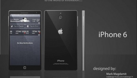 Concept iPhone 6 ecran