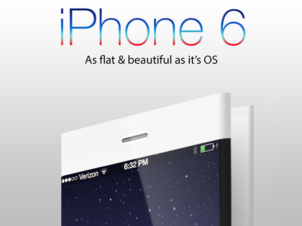 Concept iPhone 6 Pliable