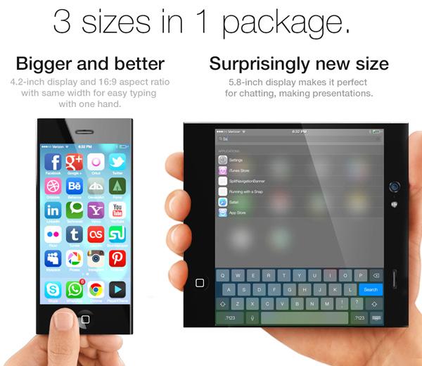 Concept iPhone 6 Pliable