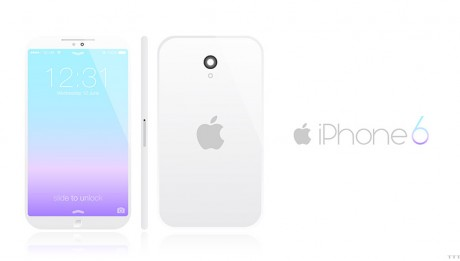 Concept iPhone 6 iOS 7
