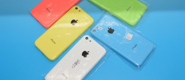 iphone 5C couleurs