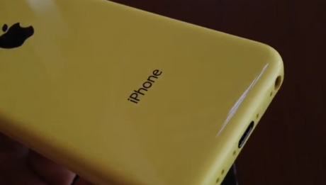 iphone 5c jaune