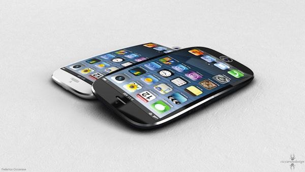 iPhone 6 incurvé